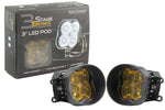 Worklight SS3 Sport Type B Kit White SAE Fog Diode Dynamics