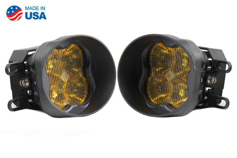 SS3 LED Fog Light Kit for 2007-2016 Toyota Yaris Yellow SAE/DOT Fog Sport Diode Dynamics