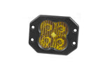 Worklight SS3 Sport Yellow SAE Fog Flush Single Diode Dynamics