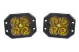 Worklight SS3 Sport Yellow Spot Flush Pair Diode Dynamics - San Diego Overland