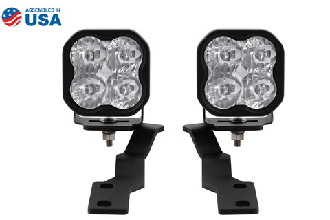 Tacoma Ditch Light Kit SS3 LED For 16-20 Toyota Tacoma Sport White Driving Diode Dynamics - San Diego Overland
