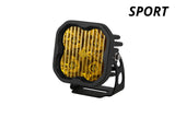 SS3 LED Pod Sport Yellow Combo Standard Single Diode Dynamics - San Diego Overland
