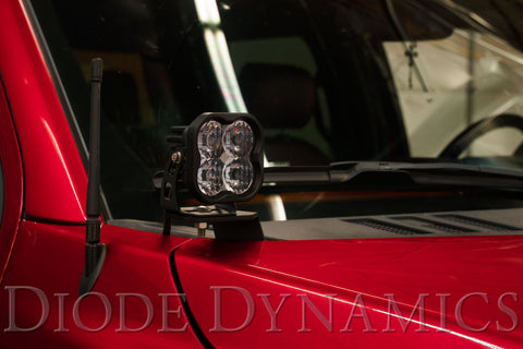 SS3 LED Ditch Light Kit for 15-20 Ford F-150 Yellow Driving Pro Diode Dynamics