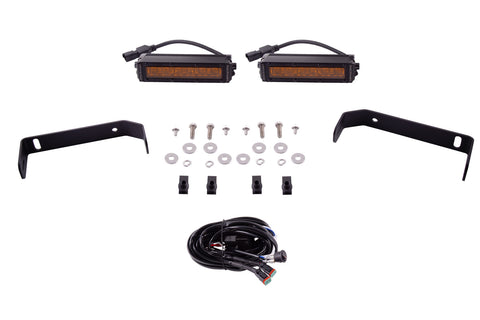 SS6 6 Inch LED Lightbar Kit for 2019-2020 Ford Ranger Amber Driving Diode Dynamics