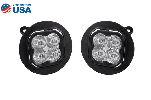 SS3 LED Fog Light Kit for 2005-2009 Subaru Outback White SAE/DOT Driving Sport Diode Dynamics - San Diego Overland
