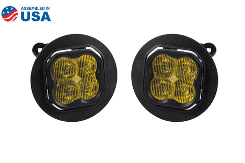 SS3 LED Fog Light Kit for 2013-2019 Subaru Outback Yellow SAE/DOT Fog Pro Diode Dynamics - San Diego Overland