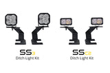 SS3 LED Ditch Light Kit for 15-20 Chevrolet Colorado Sport Yellow Driving Diode Dynamics