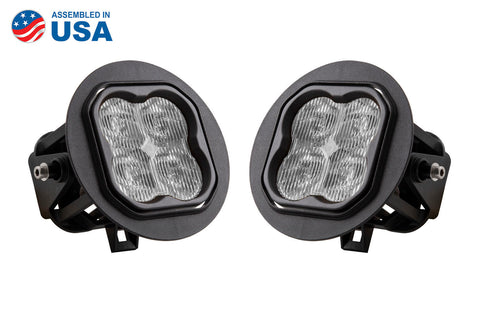 SS3 LED Fog Light Kit for 2006-2010 Ford F-150 White SAE/DOT Fog Max Diode Dynamics - San Diego Overland