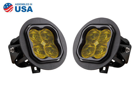 SS3 LED Fog Light Kit for 2011-2014 Ford F-150 Yellow SAE/DOT Fog Max Diode Dynamics - San Diego Overland