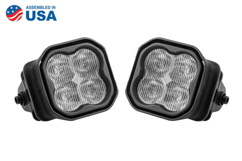 SS3 LED Fog Light Kit for 2015-2020 Ford F-150 White SAE/DOT Fog Max Diode Dynamics - San Diego Overland
