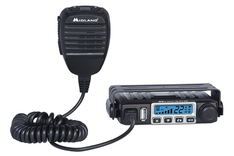 Midland MXT115 MICROMOBILE® TWO-WAY GMRS RADIO | Midland USA - San Diego Overland