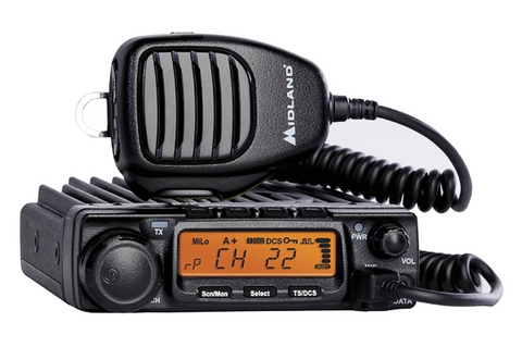 Midland MXT400 MICROMOBILE® TWO-WAY GMRS RADIO | Midland USA - San Diego Overland