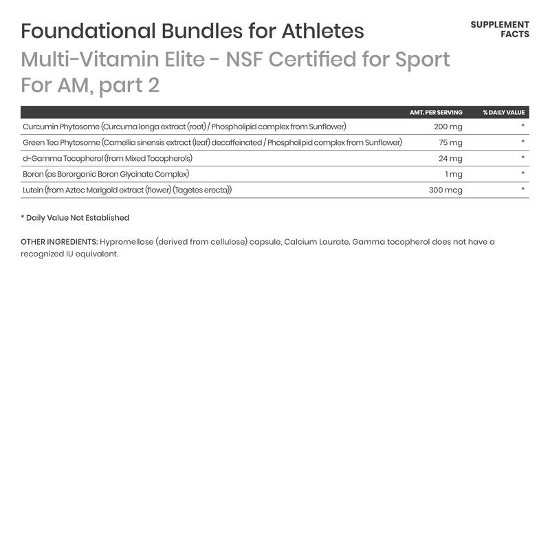 Foundational Bundle for Athletes - Karim Chubin