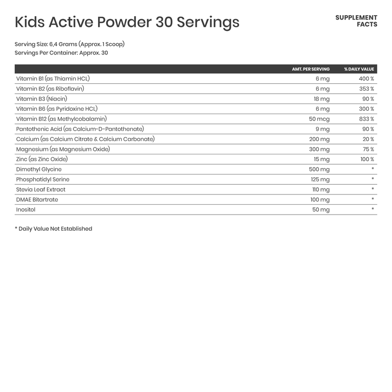Kids Active Powder