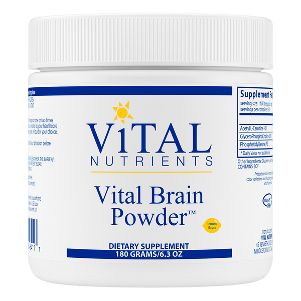 Vital Brain Powder Lemon - Karim Chubin