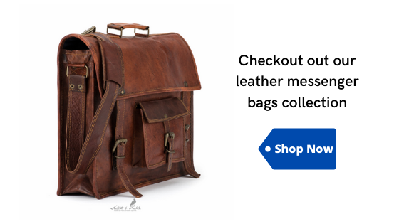 Leather Messenger Bag Shop Now