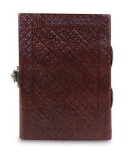 Load image into Gallery viewer, Writing Notebook Handmade Leather Bound Daily Notepads - Classy Leather Bags
