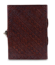 Load image into Gallery viewer, Unicorn Embossed Leather Paper Journal 5 x 7 Inch - Classy Leather Bags