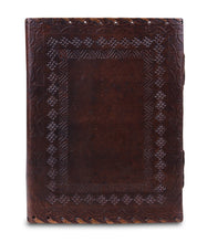 Load image into Gallery viewer, Vintage Handmade Leather Journal With Lock And Key - Classy Leather Bags