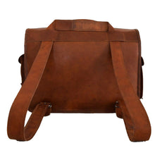Load image into Gallery viewer, Convertible Leather Laptop Briefcase Backpack Messenger Bag