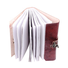 Load image into Gallery viewer, 7 Stone Eye Leather Journal Writing Handmade Leather Notebook - Classy Leather Bags