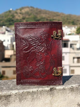 Load image into Gallery viewer, Leather Journal Handmade Writing Notebook Vintage Brown - Classy Leather Bags
