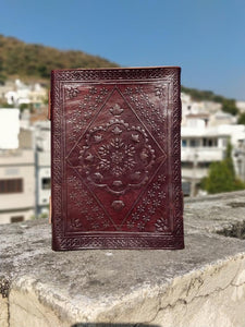 Leather Journal Handmade Writing Notebook Vintage Brown - Classy Leather Bags