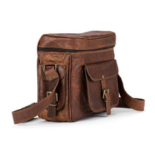 Load image into Gallery viewer, Genuine Leather Camera Vintage Bag