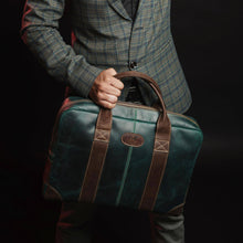 Load image into Gallery viewer, Jefferson Buffalo Executive Leather Laptop Briefcase
