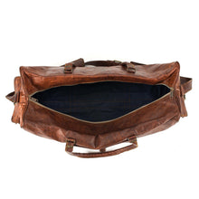 Load image into Gallery viewer, Portland Leather Duffle Travel Bag