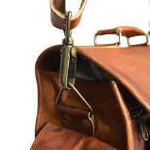 "Load image into Gallery viewer, 14"" Genuine Stylish Leather Camera Bag / DSLR Shoulder Bag - Classy Leather Bags"