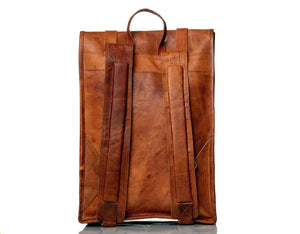 roll backpack - Classy Leather Bags