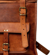 Load image into Gallery viewer, roll backpack - Classy Leather Bags