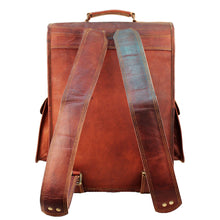 Load image into Gallery viewer, Mahi Leather Laptop Backpack For Men Women - Classy Leather Bags
