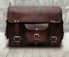 Load image into Gallery viewer, Rugged Leather Messenger Bag - Classy Leather Bags