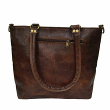 Load image into Gallery viewer, Women's Tote Rustic Handbag Genuine Leather Shoulder Purse - Classy Leather Bags