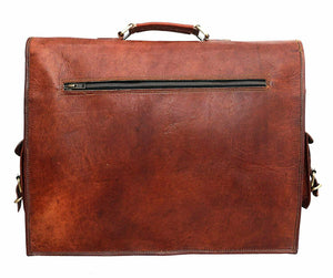 Lawyer/Legal/Attorney Leather Briefcase Messenger Bag - Classy Leather Bags