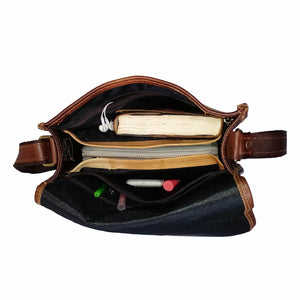 Multi Utility Leather Satchel Purse Bag Women - Classy Leather Bags