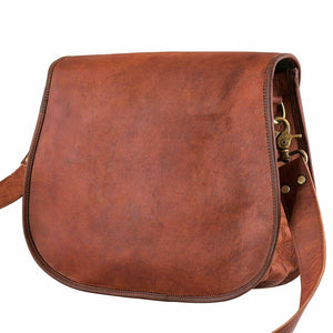 Vintage Leather Tote Purse Crossbody Shoulder Bags Women - Classy Leather Bags