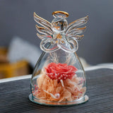 ANLUNOB Valentine's Day Rose Gift Eternal Flower Rose - Children's Day Gift Never Withered Roses Handmade Preserved Flower Rose