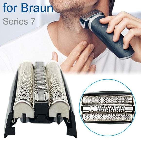 Electric Razor Replacement Head Foil Screen + Frame For BRAUN Shaver 70B 70S 7 Series Accessory|Shaver Holders