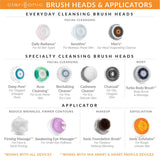 Clarisonic Deep Pore Facial Cleansing Brush Head Replacement | For Blackheads and Clogged Pores| Suitable for Sensitive, Oily Skin
