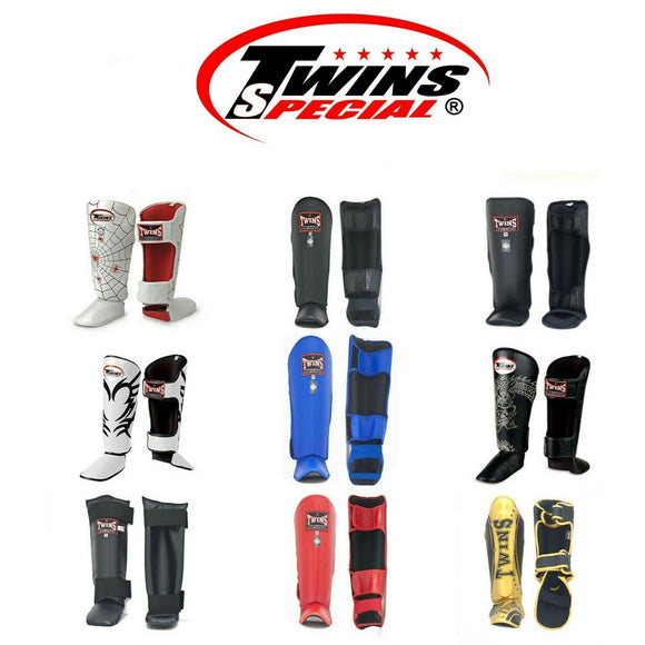 Muay Thai Boxing Shin Guard Twins Special