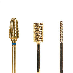 Dashboard Beauty Nail Drill Bits - Sharp Nail Drill Bits For Acrylic Nails - Quickly Clean, Even, Smooth Pretty Acrylic Nails, Manicures, Pedicures - Perfect For Beginners To Advanced Nail Technicians