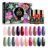 Fall Nail Gel Polish Set Manicure Kit