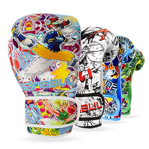 Sanabul Sticker Bomb Kids Boxing Kickboxing Training Gloves