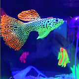 Glow In The Dark Artificial Aquarium Goldfish Jellyfish
