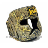 Muay Thai Boxing Head Guard Top King