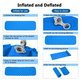 Ultralight Outdoor Inflatable Cushion Sleeping Pad
