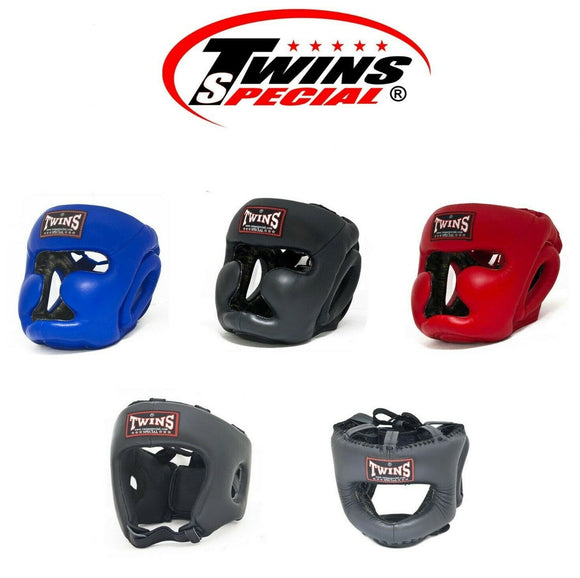 Muay Thai Boxing Head Guard Twins Special